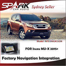 FACTORY NAVIGATION GPS SAT NAV INTEGRATION SYSTEMS FOR ISUZU MU-X MY15.5+ 2015+