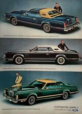 1977 CONTINENTAL MARK V Lincoln- Mercury Division Ford Vintage PRINT AD
