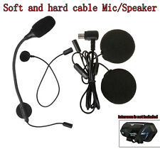 Motorcycle Bluetooth Headphone Headset Helmet w/Mic For M1-S Pro 2000M Intercom