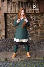 Mittelalter Tunika Frauen Wikinger - Grün