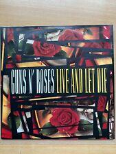 """7"""" vinyl - Guns n' Roses - Live And Let Die"""