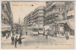 France postcard - Marseille - Rue Noailles - P/U 1907 (A79)