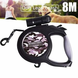 Accessories With lamp Dog Lead Contraction Belt Automatic Retractable Pet Leash
