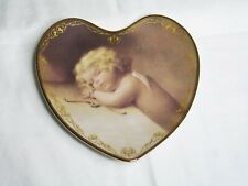 Loves Heavenly Messengers Plate Sweet Slumber Cupid Bradford Exchange Heart 1996