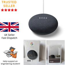 Google Nest Mini (2nd Generation) Smart Speaker - Charcoal BNIB