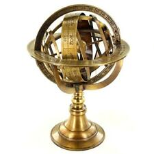 More details for armillary globe brass nautical sphere earth zodiac horoscope constellations