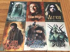 The Hobbit Battle Of The Five Armies Charcater Biography Set CB29 - CB34