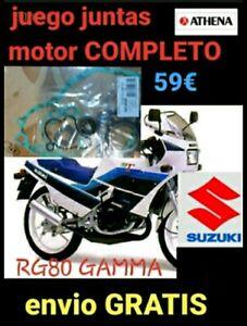 Suzuki RG80 GAMMA JUEGO JUNTAS COMPLETO ATHENA P400510850088