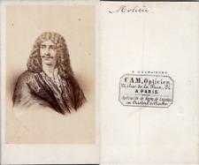 Desmaisons, Paris, Molière, comédien et dramaturge français, circa 1860 CDV vint