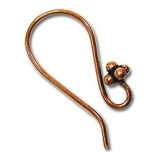 The Beadsmith 24mm  Copper Earwires 3 pairs (6 wires)