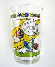 Verre a Moutarde Super Mario World n° 4 La Conquête du Ciel Nintendo 1993