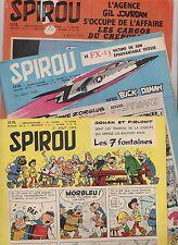 SPIROU. Ensemble des n°1113 à 1122. Correspondance reliure 73 - 1959