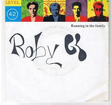 """LEVEL 42 """"RUNNING IN THE FAMILY-DREAM CRAZY"""" 7"""""""