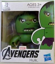 "HULK The Avengers Movie Mini Muggs 3"" inch Vinyl Figure Hasbro 2012"