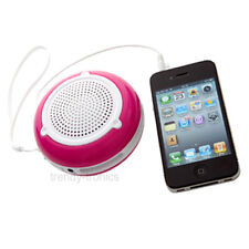 Groov-e Recargable Altavoz Portátil Ideal Para Ipod Iphone Mp3 dispositivos Rosa