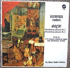 Klemperer Conducts Bach Brandenburg Concertos No.5 & 6 Vol. 3 Vox Very Clean