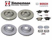 For Audi TT Quattro S Front & Rear Zimmermann Brake Discs & Bosch Pads KIT