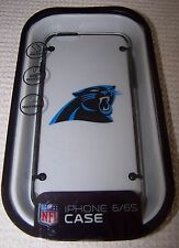 NFL Sports CAROLINA PANTHERS Hardshell Snap-On Case for iPhone 6/6S CLEAR ~ NEW