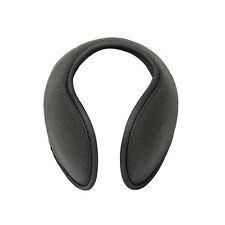 2x Wrap Around Fleece Ear Muffs Cover Warm Winter Ski Warmers Cycling Earmuffs Grey