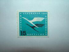1955 L'Allemagne de l'ouest 15pf Lufthansa Airways Comme neuf No GUM (sg1133) CV £ 10