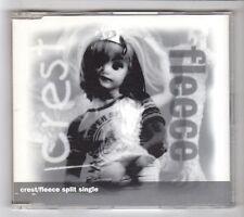 (HA788) Crest / Fleece, split single - 1999 CD