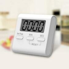 Kitchen Cooking LCD Digital Timer Count-Down Up Big Clock Loud Alarm Magnetic