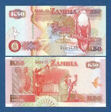 ZAMBIA -- 50 KWACHA ( 1992 ) -- UNC -- PICK 37a .