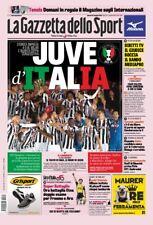 GAZZETTA DELLO SPORT 10/05/2018 JUVENTUS VS MILAN 4-0 WINNER COPPA ITALIA JUVE