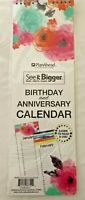 NEW See It Bigger Birthday and Anniversary Wall Calendar