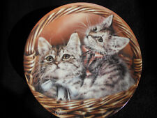 Bradford Exchange, Baskets of Love- Andrew & Abby, Alexei Isakov, Plate # 1284A