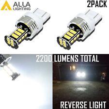 Alla Lighting 7440 30-LED Back Up Reverse Light Backup Lamp/Turn Signal,White,2x
