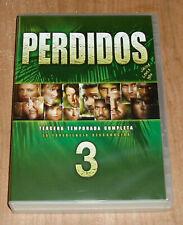 PERDIDOS 3º TEMPORADA COMPLETA 7 DVD NUEVO DRAMA SERIE AVENTURAS R2