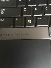 Dell Latitude E6530 Core i7 3.0GHz 4GB Ram 1TB Windows7 Pro, / Charger