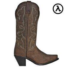 """LAREDO ACCESS 12"""" TAN WOMEN'S LEATHER WESTERN BOOTS 51078 * ALL SIZES - NEW"""