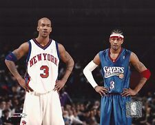 Allen Iverson - Stephon Marbury - Sixers - New York Knicks picture 8x10 photo