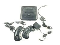 Sega Genesis Model 2 MK-1631 MK1631 Console Video Cable & 2 Controllers, Tested