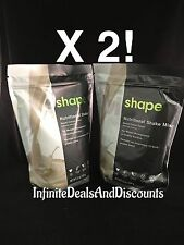 2 X ViSalus Vi-Shape Sweet Cream Nutritional Shake Mix (48 Servings) EXP 2019