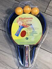 Giant Dragon Platinum Series Table Tennis Ping Pong Blade Paddle Rubber New