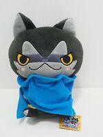 "Yokai Watch Darknyan Banpresto 11"" Plush 2014 Stuffed TAG Toy Doll Japan"