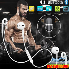 Wireless Headphones Sports Bluetooth Earphones Headsets Mic for Android iPhone