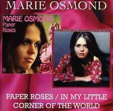 Marie Osmond - Paper Roses - In My Little Cor NEW CD