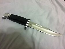 Vintage Buck Hunting Knife, Model No. 119, with Scabbard