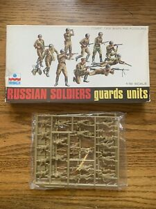 ESCI Russian Soldiers Guards Units 1/72 scale 26 Figures Sealed Bag