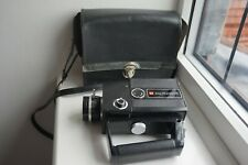 halinamatic cine Super 8 camera TESTED AND WORKING