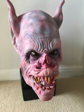 Horror Halloween Demon Bat Latex Overhead Mask