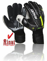 Rinat goalkeeper gloves Asimetrik Etnik OX2 spine (Black size,7 ) 5 finger save