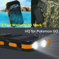 2021 Waterproof 3000000mAh 2 USB Portable Battery Charger Solar Power Bank