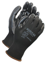 12 Pairs Nugear Nitrile Palm Coated Protective Safety Work Gloves
