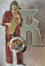 "Hard Rock Cafe Cleveland 2001 Musician Letter Series Pin #3/12 ""R"" 30 Year 30th"