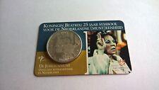 Nederland 2005 Coincard 10 Euro Zilver Jubileummunt Koningin Beatrix